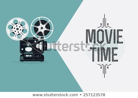 Old film movie camera Stock photo © mayboro