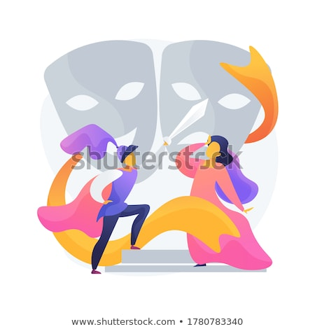 Theatre premiere night vector concept metaphor Stock photo © RAStudio