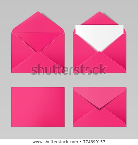 pink envelope  Stock photo © oblachko