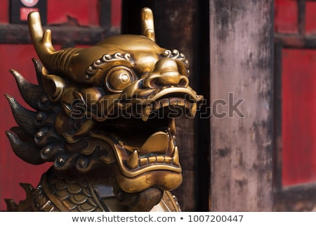 bronze dragon Stock photo © AnatolyM
