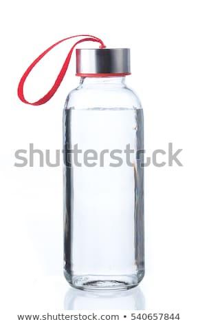 水筒 ガラス フローラル 装飾 ベクトル 花 ストックフォト © almoni