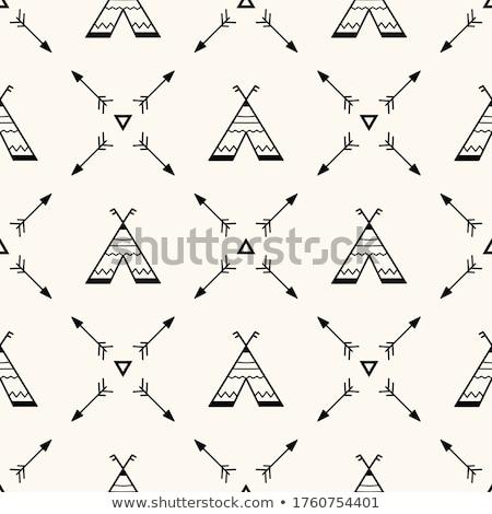 Teepee motifs Stock photo © skylight