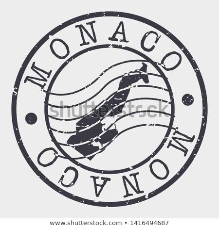Mónaco · viaje · mapa · negocios · diseno - foto stock © speedfighter