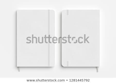 Caderno flexível papel livro escolas escrita Foto stock © gladiolus