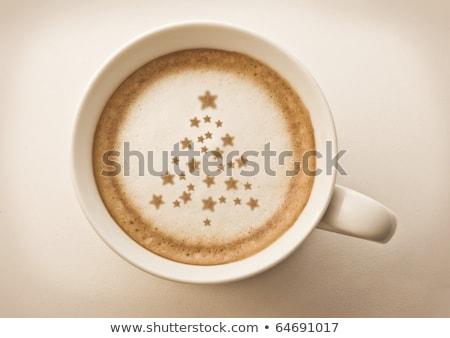 koffiekopje · kalender - stockfoto © devon