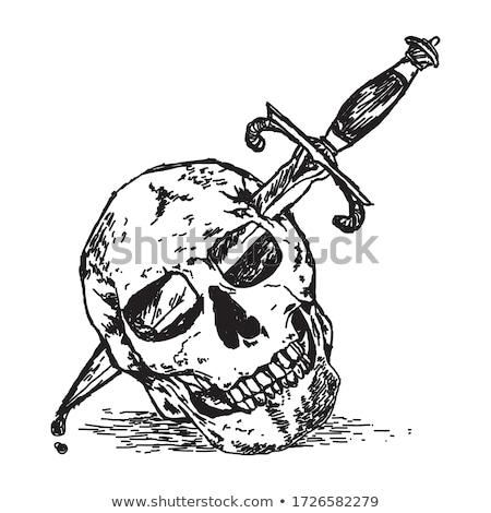 stabbing in the dark Stock photo © sirylok