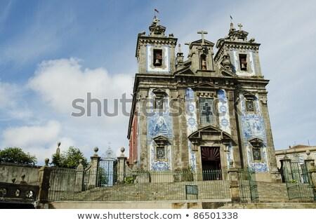 stad · Portugal · stadsgezicht · schaduw - stockfoto © travelphotography
