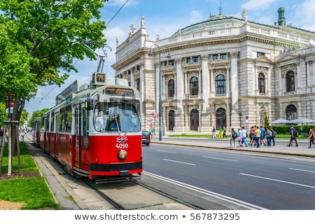 Vienna tram Stock photo © joyr