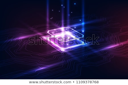 Processor chip Stock photo © jakatics