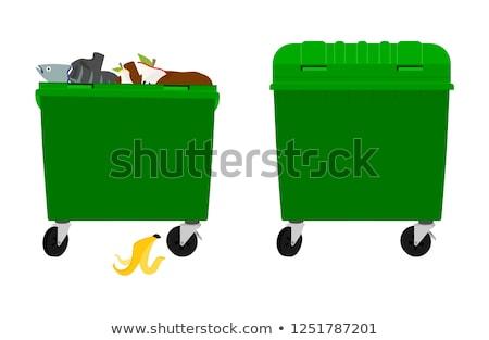 overflowing rubbish stock photo © thp