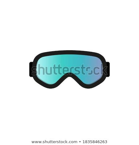 orange goggles Stock photo © prill