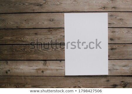 notepaper on wooden background Stock photo © jirkaejc
