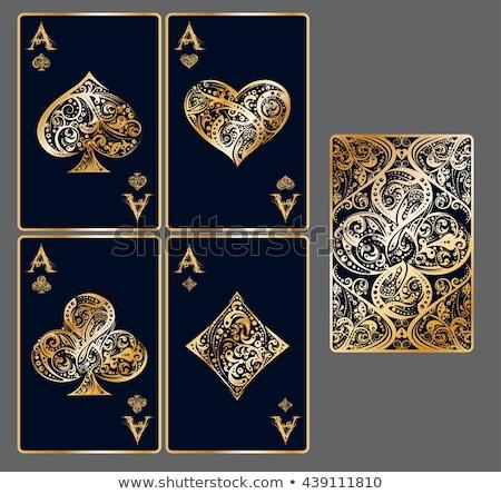игральных карт аннотация успех карт играть игры Сток-фото © Grazvydas