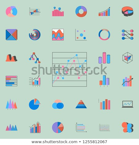 universal vector collection comparative charts Stock photo © butenkow