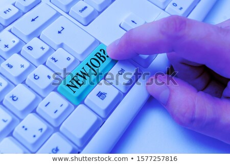 find someone key on computer keyboard stock photo © iqoncept