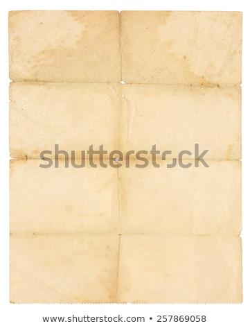 krém · mintázott · papír · közelkép · konzerv · használt - stock fotó © thp
