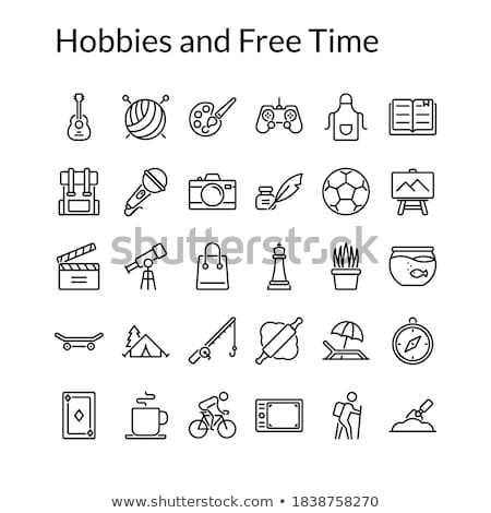 leisure time icons stock photo © carbouval