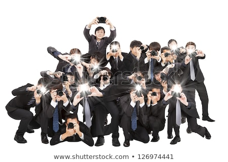 Paparazzi Photographer Stock photo © ArenaCreative