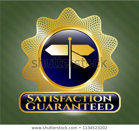 satisfaction guaranteed   roadsign stock photo © tashatuvango