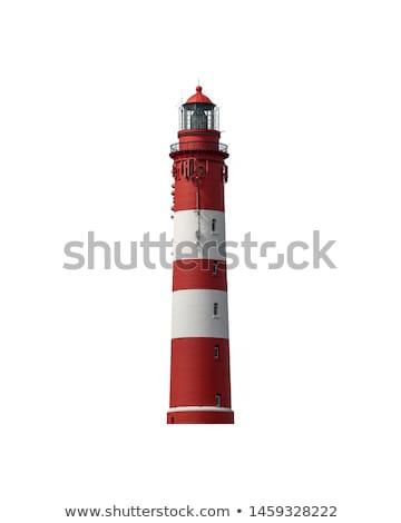 lighthouse isolated on white Stock photo © smithore