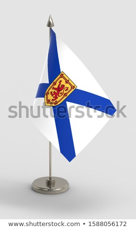 miniature flag of nova scotia stock photo © bosphorus