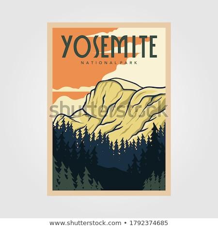 yosemite mountain stock photo © weltreisendertj