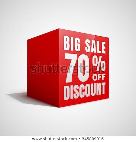ビッグ 販売 3D 赤 キューブ 文字 ストックフォト © marinini