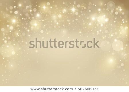 Gümüş kar taneleri kabarcıklar Yıldız doku mutlu Stok fotoğraf © impresja26