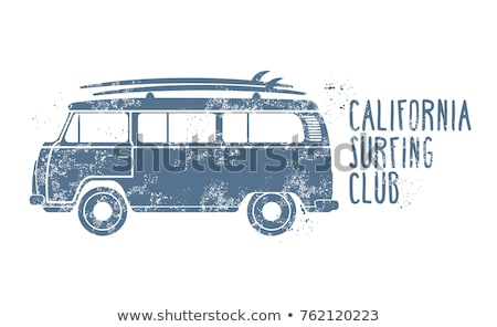 Old vintage van Stock photo © remik44992