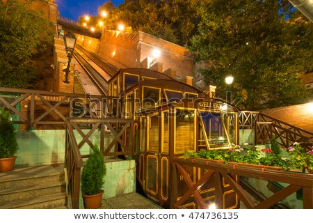 budapest funicular hungary stock photo © bloodua