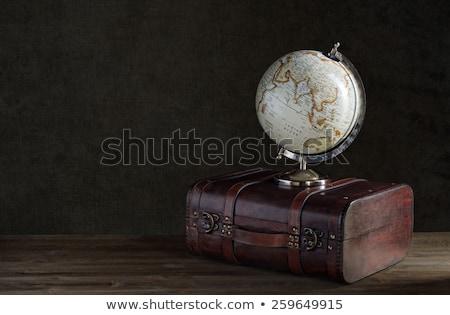 vintage · globo · velho · mapa · mundo - foto stock © nejron