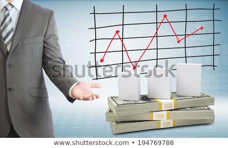 livre · dollars · Finance · banque - photo stock © cherezoff