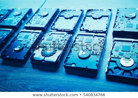 harda disk background stock photo © tiero