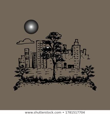 ağaç · yansıma · kristal · bahar · ahşap · orman - stok fotoğraf © lovleah