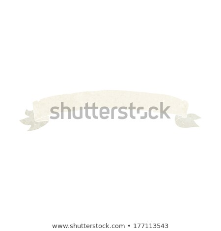 heraldry scroll banner cartoon Stock photo © lineartestpilot