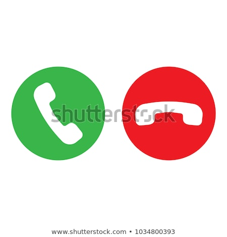 Phone retro icon in gray colors stock photo © aliaksandra