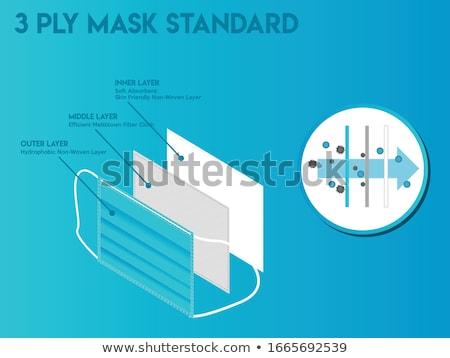 theater · komedie · tragedie · maskers · masker · gezichten - stockfoto © serebrov