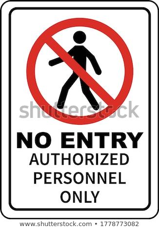 Forbidden Pass Stock photo © BigKnell