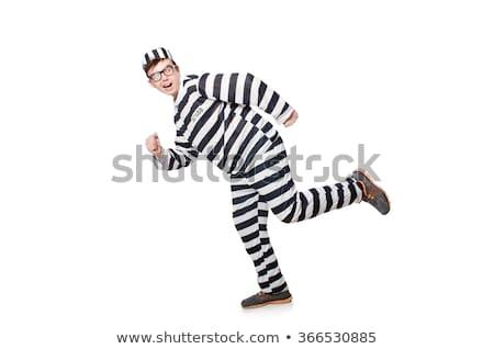 刑務所 受刑者 面白い 男 ロック 自由 ストックフォト © Elnur