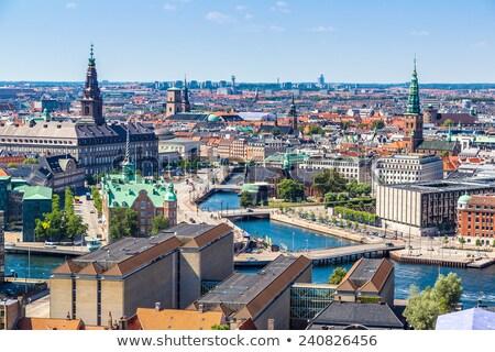 Güzel şehir Kopenhag kraliyet kuzey son Stok fotoğraf © smartin69