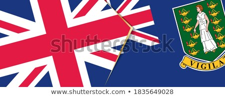 European Union and Virgin Islands (British) Flags Stock photo © Istanbul2009