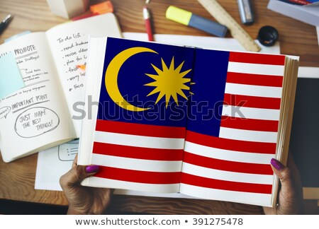 Tablet with Malaysia flag Stock photo © tang90246