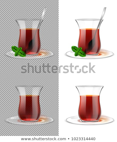 çay nane geleneksel türk taze ışık Stok fotoğraf © Karaidel