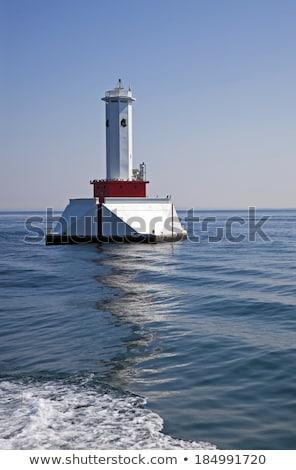 île passage phare paysage architecture parc Photo stock © benkrut