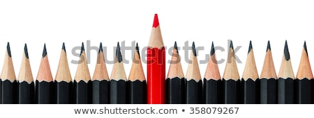 Red and black pencil   Stock photo © tang90246