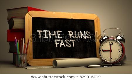 時間 · 高速 · 画像 · いい · クロック · ビジネス - ストックフォト © tashatuvango