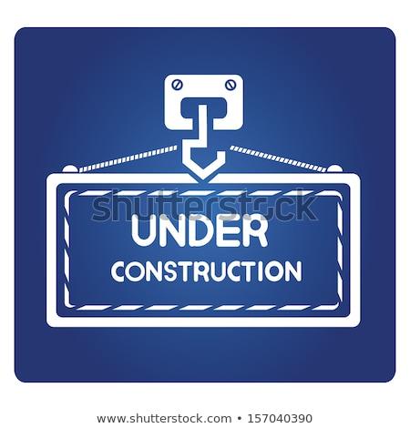 建設 · ベクトル · ウェブ · ボタン - ストックフォト © rizwanali3d
