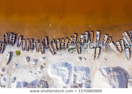 Szenegál vidék zászló térkép forma szöveg Stock fotó © tony4urban