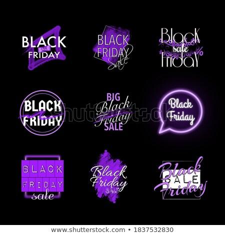 Acuerdo día violeta vector icono diseno Foto stock © rizwanali3d