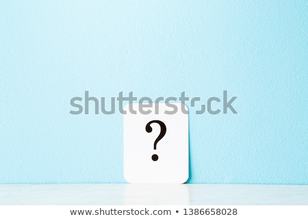 Chance Question Stock photo © Lightsource